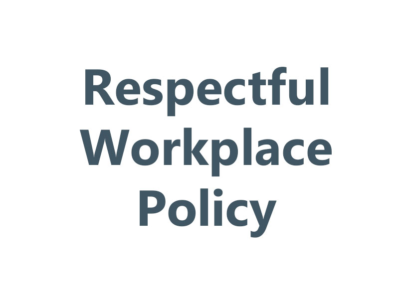 Respectful Workplace Policy
